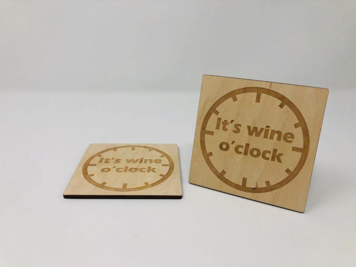 wineoclock poháralátét 4