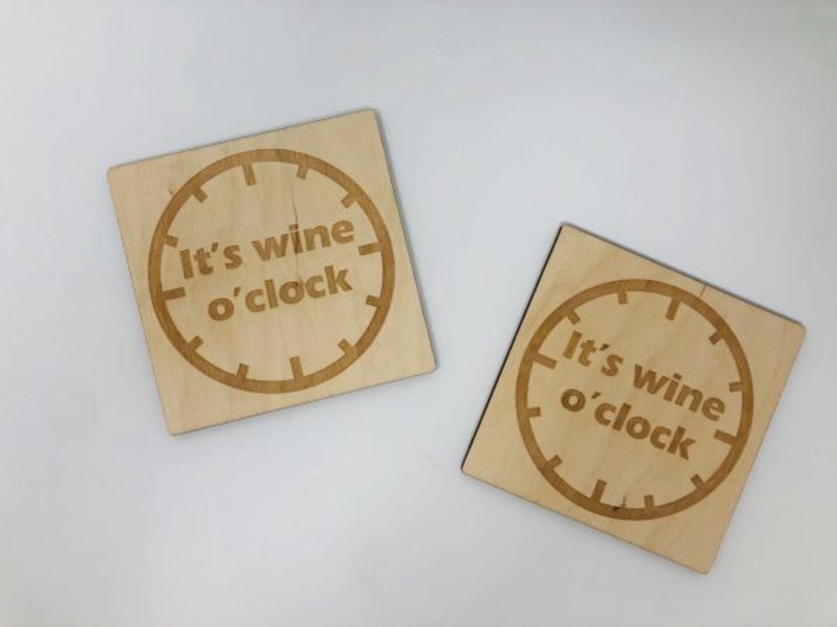 wineoclock poháralátét 1